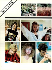 Allentown High School - Manitou (Allentown, NJ) online yearbook collection, 1986 Edition, Page 16