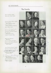 Page 16, 1935 Edition, Audubon High School - Le Souvenir Yearbook (Audubon, NJ) online yearbook collection