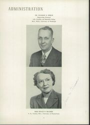 Page 10, 1949 Edition, Audubon High School - Le Souvenir Yearbook (Audubon, NJ) online yearbook collection
