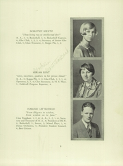 Page 11, 1928 Edition, Verona High School - Shadows Yearbook (Verona, NJ) online yearbook collection