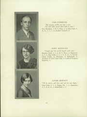 Page 12, 1928 Edition, Verona High School - Shadows Yearbook (Verona, NJ) online yearbook collection