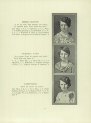 Page 13, 1928 Edition, Verona High School - Shadows Yearbook (Verona, NJ) online yearbook collection
