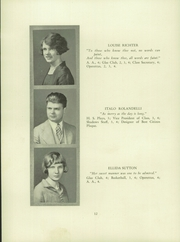 Page 14, 1928 Edition, Verona High School - Shadows Yearbook (Verona, NJ) online yearbook collection