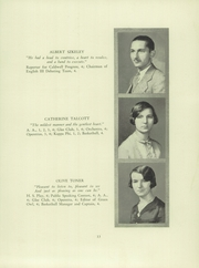 Page 15, 1928 Edition, Verona High School - Shadows Yearbook (Verona, NJ) online yearbook collection