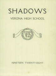 Page 3, 1928 Edition, Verona High School - Shadows Yearbook (Verona, NJ) online yearbook collection