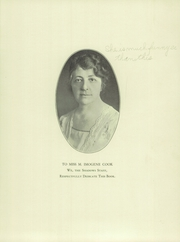 Page 5, 1928 Edition, Verona High School - Shadows Yearbook (Verona, NJ) online yearbook collection
