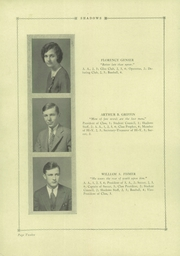 Page 16, 1929 Edition, Verona High School - Shadows Yearbook (Verona, NJ) online yearbook collection
