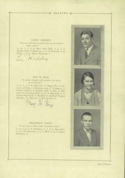 Page 17, 1929 Edition, Verona High School - Shadows Yearbook (Verona, NJ) online yearbook collection
