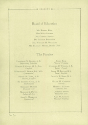 Page 8, 1929 Edition, Verona High School - Shadows Yearbook (Verona, NJ) online yearbook collection