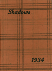 1934 Edition, Verona High School - Shadows Yearbook (Verona, NJ)