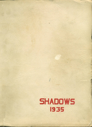 1935 Edition, Verona High School - Shadows Yearbook (Verona, NJ)