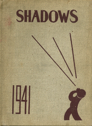1941 Edition, Verona High School - Shadows Yearbook (Verona, NJ)