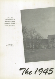 Page 6, 1945 Edition, Verona High School - Shadows Yearbook (Verona, NJ) online yearbook collection