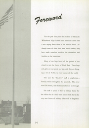 Page 8, 1945 Edition, Verona High School - Shadows Yearbook (Verona, NJ) online yearbook collection