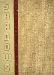 1947 Edition, Verona High School - Shadows Yearbook (Verona, NJ)