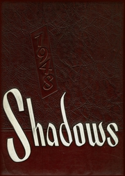 1948 Edition, Verona High School - Shadows Yearbook (Verona, NJ)