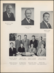 Page 13, 1956 Edition, Irvington High School - Morrellian Yearbook (Irvington, NJ) online yearbook collection
