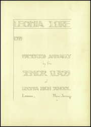 Page 11, 1934 Edition, Leonia High School - Lore Yearbook (Leonia, NJ) online yearbook collection