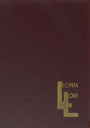 Page 1, 1938 Edition, Leonia High School - Lore Yearbook (Leonia, NJ) online yearbook collection