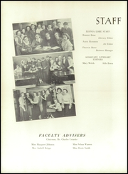 Page 10, 1938 Edition, Leonia High School - Lore Yearbook (Leonia, NJ) online yearbook collection