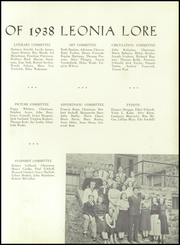 Page 11, 1938 Edition, Leonia High School - Lore Yearbook (Leonia, NJ) online yearbook collection