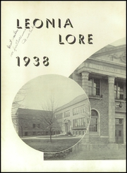 Page 6, 1938 Edition, Leonia High School - Lore Yearbook (Leonia, NJ) online yearbook collection