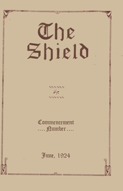 1924 Edition, Haddonfield Memorial High School - Shield Yearbook (Haddonfield, NJ)