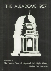Page 6, 1957 Edition, Highland Park High School - Albadome Yearbook (Highland Park, NJ) online yearbook collection