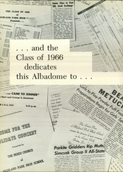 Page 6, 1966 Edition, Highland Park High School - Albadome Yearbook (Highland Park, NJ) online yearbook collection
