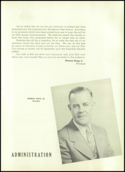 Page 11, 1948 Edition, Woodstown High School - Wood Chips Yearbook (Woodstown, NJ) online yearbook collection