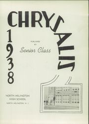 Page 7, 1938 Edition, North Arlington High School - Chrysalis Yearbook (North Arlington, NJ) online yearbook collection
