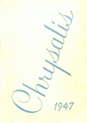 1947 Edition, North Arlington High School - Chrysalis Yearbook (North Arlington, NJ)