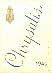 1949 Edition, North Arlington High School - Chrysalis Yearbook (North Arlington, NJ)