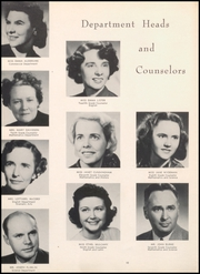 Page 14, 1950 Edition, North Arlington High School - Chrysalis Yearbook (North Arlington, NJ) online yearbook collection