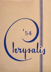 Page 1, 1954 Edition, North Arlington High School - Chrysalis Yearbook (North Arlington, NJ) online yearbook collection