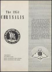 Page 5, 1954 Edition, North Arlington High School - Chrysalis Yearbook (North Arlington, NJ) online yearbook collection