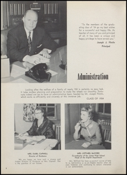 Page 8, 1954 Edition, North Arlington High School - Chrysalis Yearbook (North Arlington, NJ) online yearbook collection