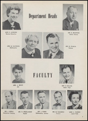 Page 9, 1954 Edition, North Arlington High School - Chrysalis Yearbook (North Arlington, NJ) online yearbook collection