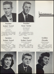 Page 16, 1956 Edition, North Arlington High School - Chrysalis Yearbook (North Arlington, NJ) online yearbook collection