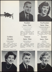 Page 17, 1956 Edition, North Arlington High School - Chrysalis Yearbook (North Arlington, NJ) online yearbook collection