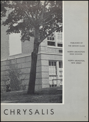 Page 7, 1956 Edition, North Arlington High School - Chrysalis Yearbook (North Arlington, NJ) online yearbook collection