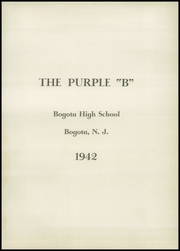 Page 5, 1942 Edition, Bogota High School - Purple B Yearbook (Bogota, NJ) online yearbook collection