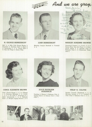 Page 14, 1952 Edition, Bogota High School - Purple B Yearbook (Bogota, NJ) online yearbook collection