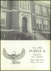 Page 5, 1958 Edition, Bogota High School - Purple B Yearbook (Bogota, NJ) online yearbook collection