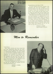 Page 12, 1959 Edition, Riverside High School - Torch Yearbook (Riverside, NJ) online yearbook collection