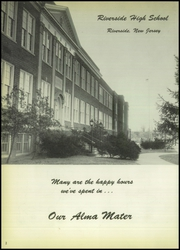 Page 6, 1959 Edition, Riverside High School - Torch Yearbook (Riverside, NJ) online yearbook collection