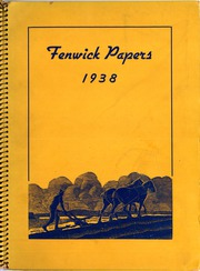 Page 1, 1938 Edition, Salem High School - Fenwick Papers Yearbook (Salem, NJ) online yearbook collection