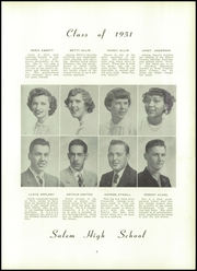 Page 13, 1951 Edition, Salem High School - Fenwick Papers Yearbook (Salem, NJ) online yearbook collection