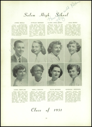 Page 14, 1951 Edition, Salem High School - Fenwick Papers Yearbook (Salem, NJ) online yearbook collection