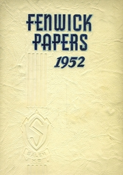 Page 1, 1952 Edition, Salem High School - Fenwick Papers Yearbook (Salem, NJ) online yearbook collection